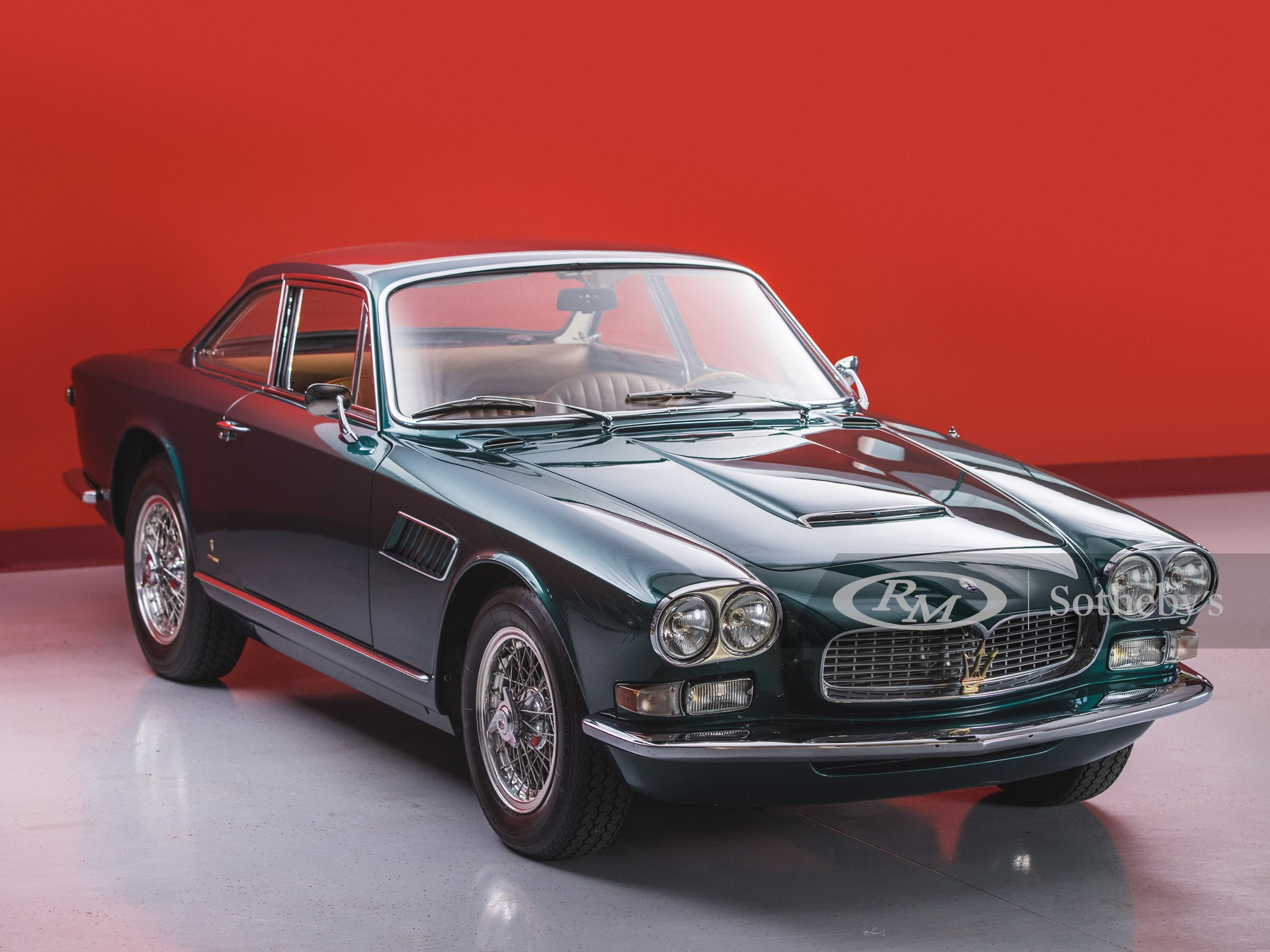 1965 Maserati Sebring 3700 GTi Series II by Vignale